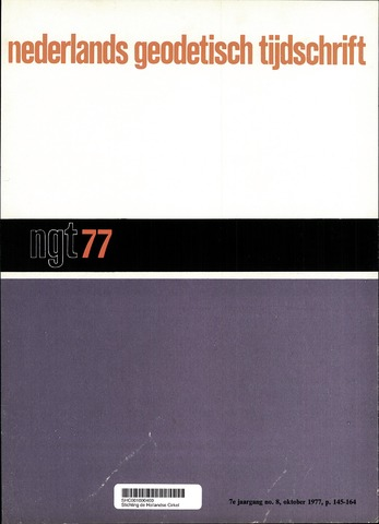 Nederlands Geodetisch Tijdschrift (NGT) 1977-10-01