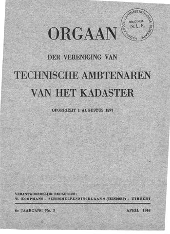 Orgaan der Vereeniging TAK 1948-04-01