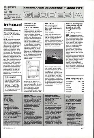 (NGT) Geodesia 1993-07-01