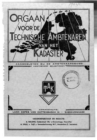 Orgaan der Vereeniging TAK 1942-12-01