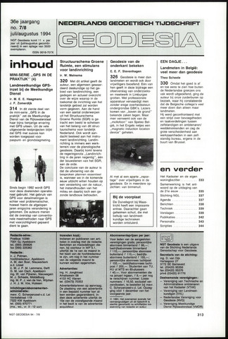 (NGT) Geodesia 1994-07-01