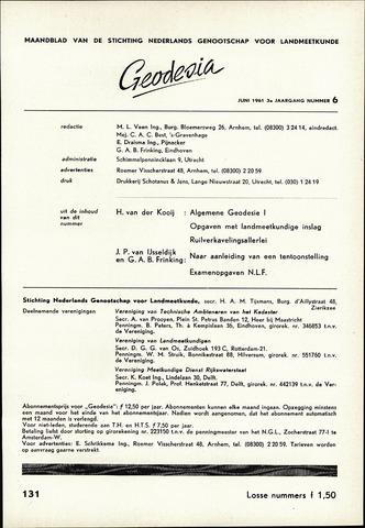 (NGT) Geodesia 1961-06-01