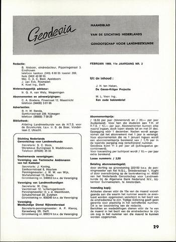 (NGT) Geodesia 1969-02-01
