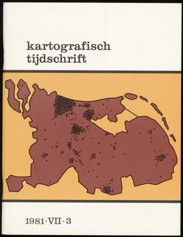 Kartografisch Tijdschrift 1981-07-01