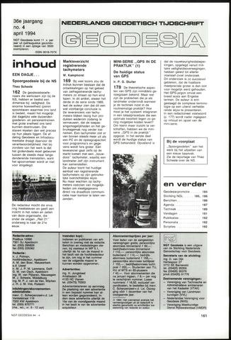 (NGT) Geodesia 1994-04-01