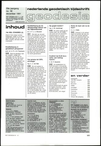 (NGT) Geodesia 1991-12-01