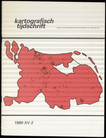 Kartografisch Tijdschrift 1989-04-01