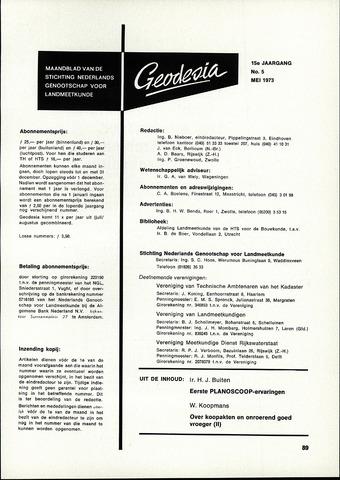 (NGT) Geodesia 1973-05-01