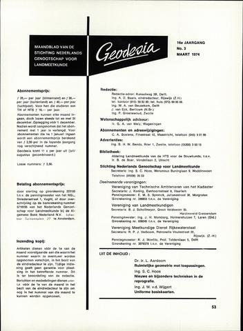 (NGT) Geodesia 1974-03-01