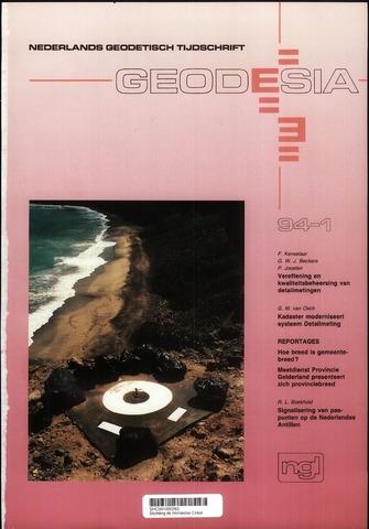 (NGT) Geodesia 1994-01-01