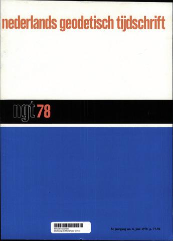 Nederlands Geodetisch Tijdschrift (NGT) 1978-06-01
