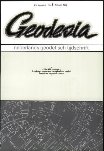 (NGT) Geodesia 1982-02-01