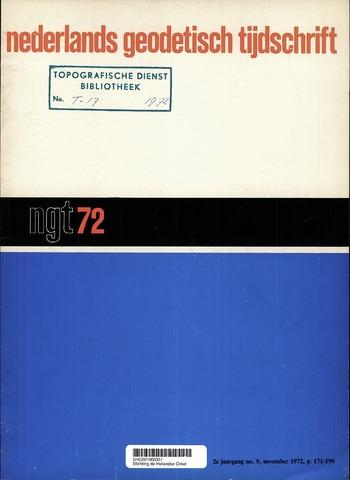 Nederlands Geodetisch Tijdschrift (NGT) 1972-11-01