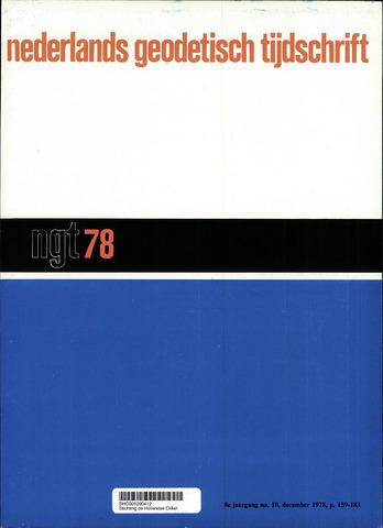 Nederlands Geodetisch Tijdschrift (NGT) 1978-12-01