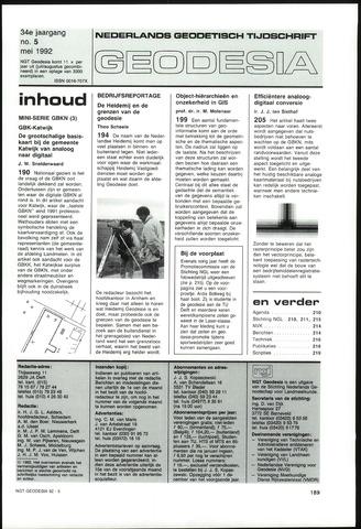 (NGT) Geodesia 1992-05-01