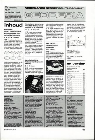 (NGT) Geodesia 1993-09-01