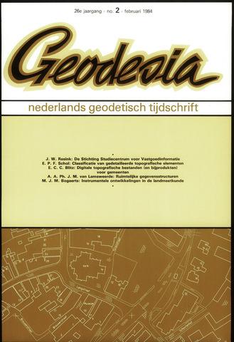 (NGT) Geodesia 1984-02-01