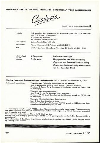 (NGT) Geodesia 1961-03-01