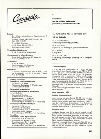 (NGT) Geodesia 1970-10-01
