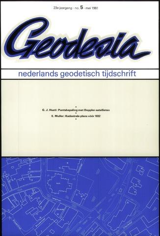 (NGT) Geodesia 1981-05-01