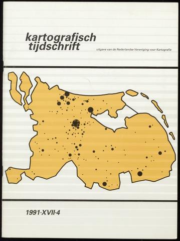Kartografisch Tijdschrift 1991-10-01