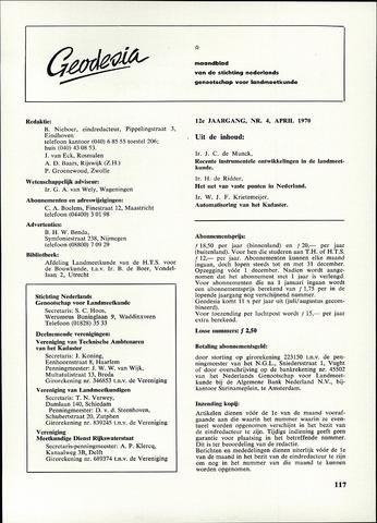 (NGT) Geodesia 1970-04-01