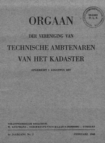 Orgaan der Vereeniging TAK 1948