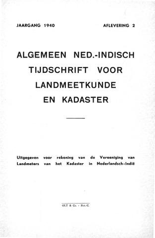 Tijdschrift voor het Kadaster in Ned.-Indië 1940-04-01