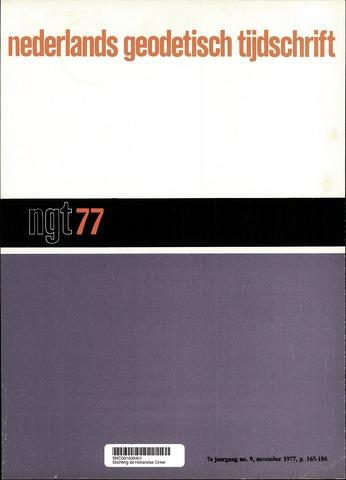 Nederlands Geodetisch Tijdschrift (NGT) 1977-11-01