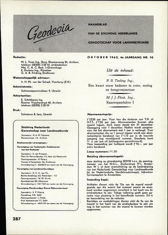 (NGT) Geodesia 1962-10-01