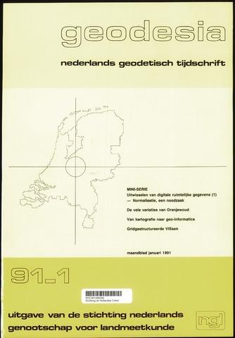 (NGT) Geodesia 1991-01-01