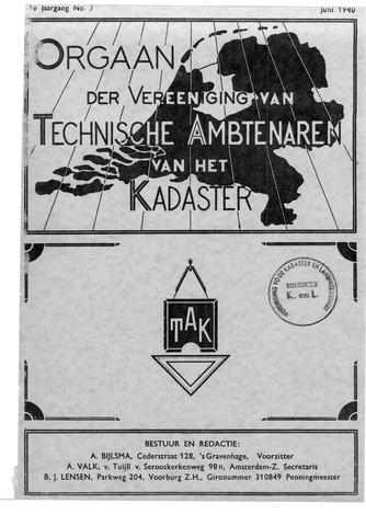 Orgaan der Vereeniging TAK 1940-06-01