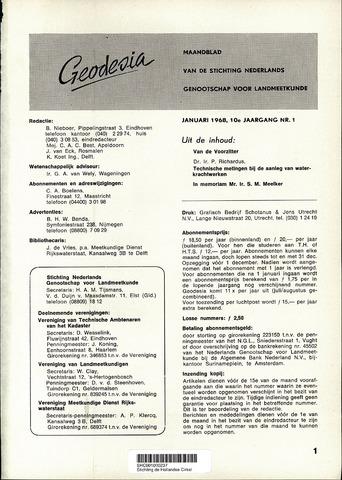 (NGT) Geodesia 1968-01-01