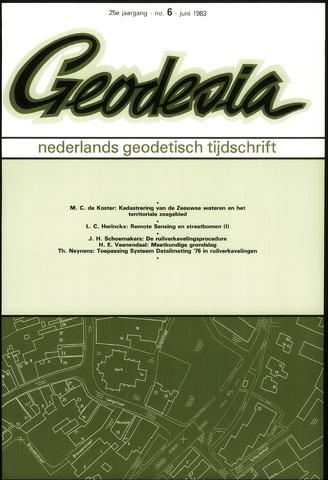 (NGT) Geodesia 1983-06-01