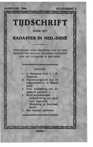 Tijdschrift voor het Kadaster in Ned.-Indië 1934-07-01