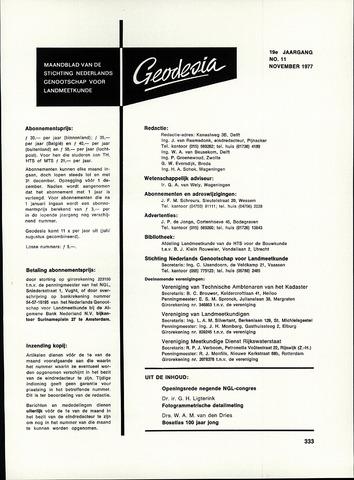(NGT) Geodesia 1977-11-01