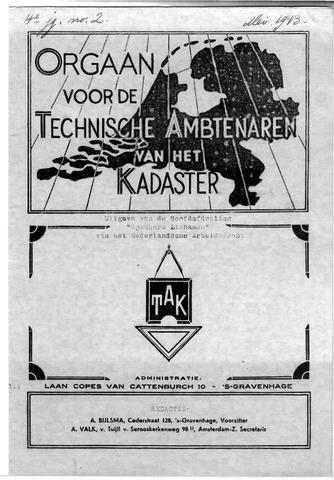Orgaan der Vereeniging TAK 1943-05-01