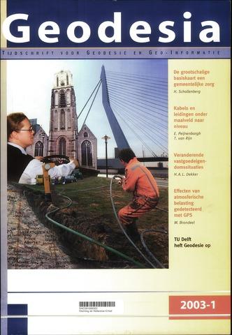 (NGT) Geodesia 2003-01-01
