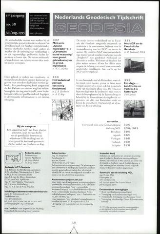 (NGT) Geodesia 1995-07-01