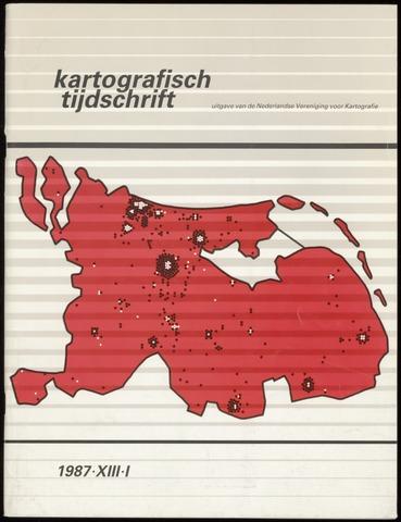 Kartografisch Tijdschrift 1987