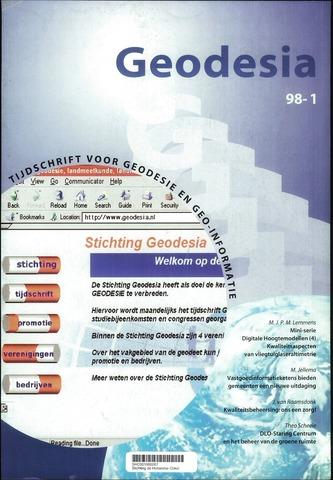 (NGT) Geodesia 1998-01-01