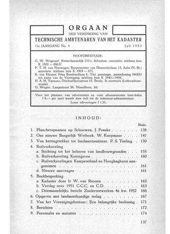 Orgaan der Vereeniging TAK 1953-07-01