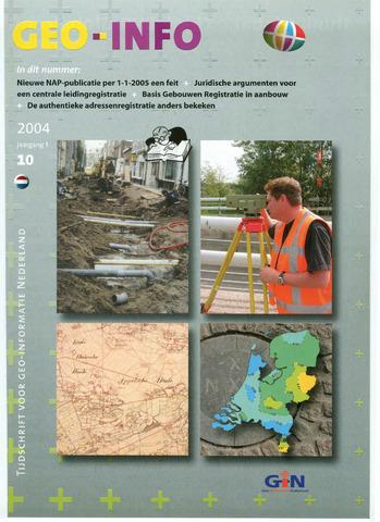 Geo-Info 2004-10-01