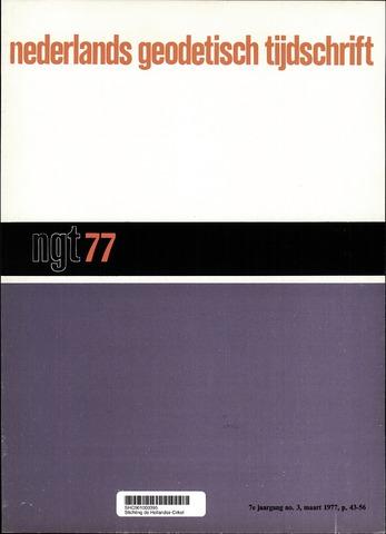 Nederlands Geodetisch Tijdschrift (NGT) 1977-03-01