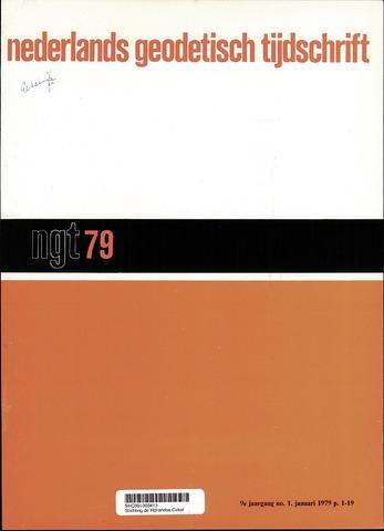 Nederlands Geodetisch Tijdschrift (NGT) 1979