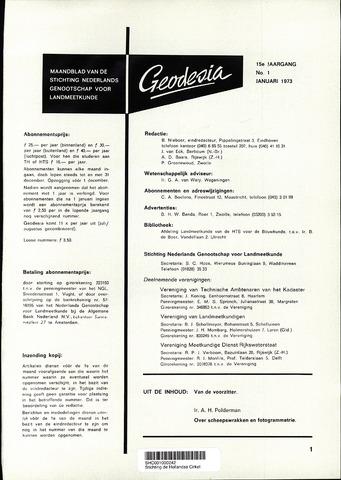 (NGT) Geodesia 1973-01-01