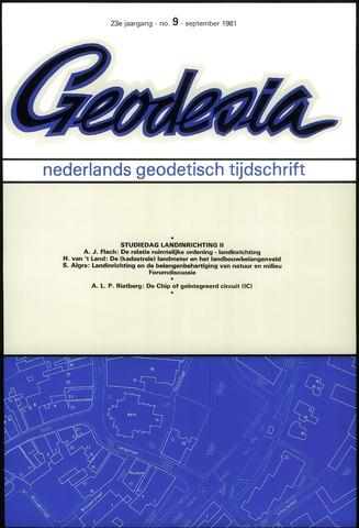 (NGT) Geodesia 1981-09-01