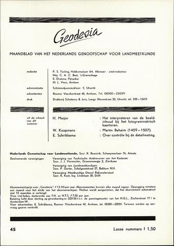 (NGT) Geodesia 1959-11-01