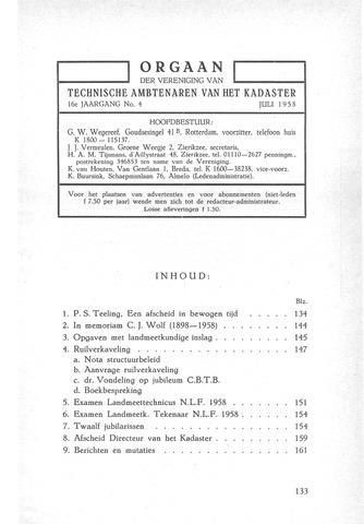 Orgaan der Vereeniging TAK 1958-07-01