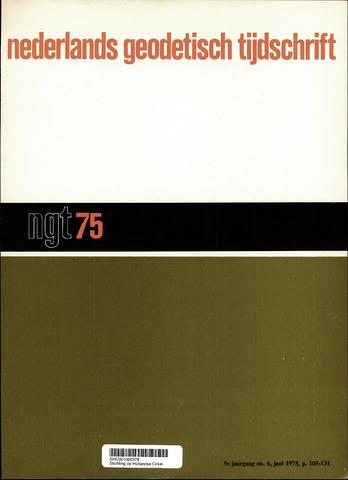 Nederlands Geodetisch Tijdschrift (NGT) 1975-06-01